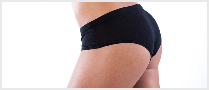 Woman with Buttlift